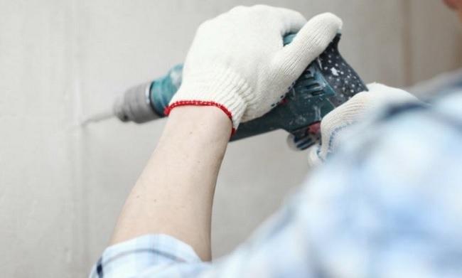 Cum sa faceti o gaura in beton